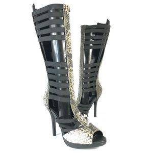 Spring gladiator heels sandals